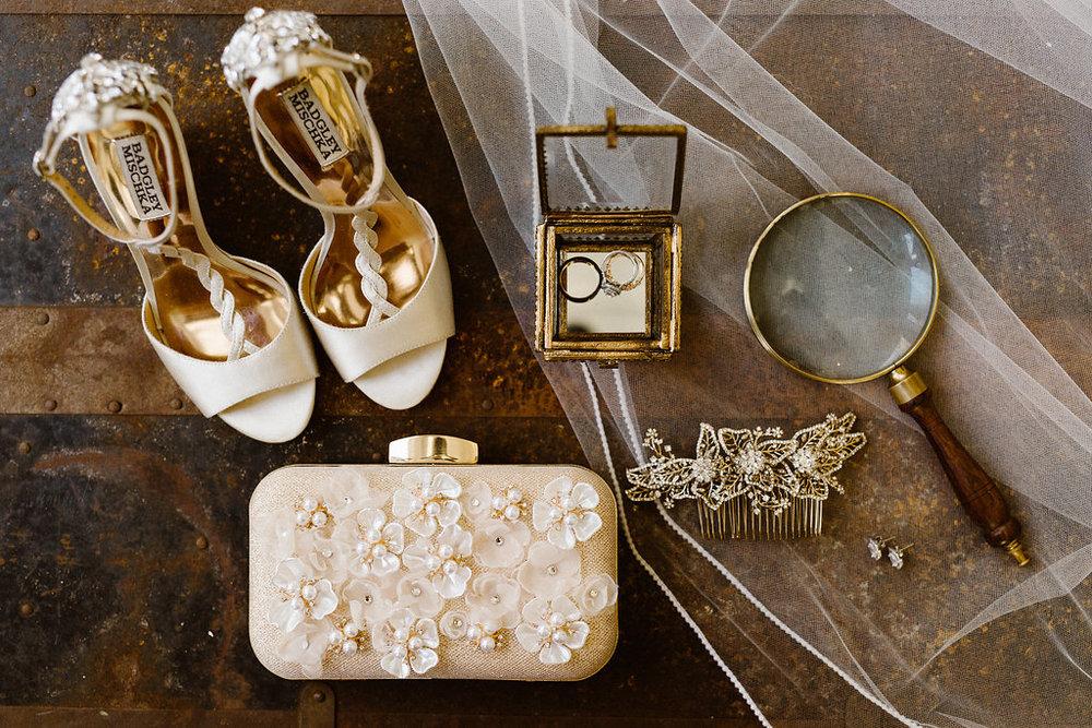 bridal shoes badgley mischka clutch wedding bride accessories.jpg