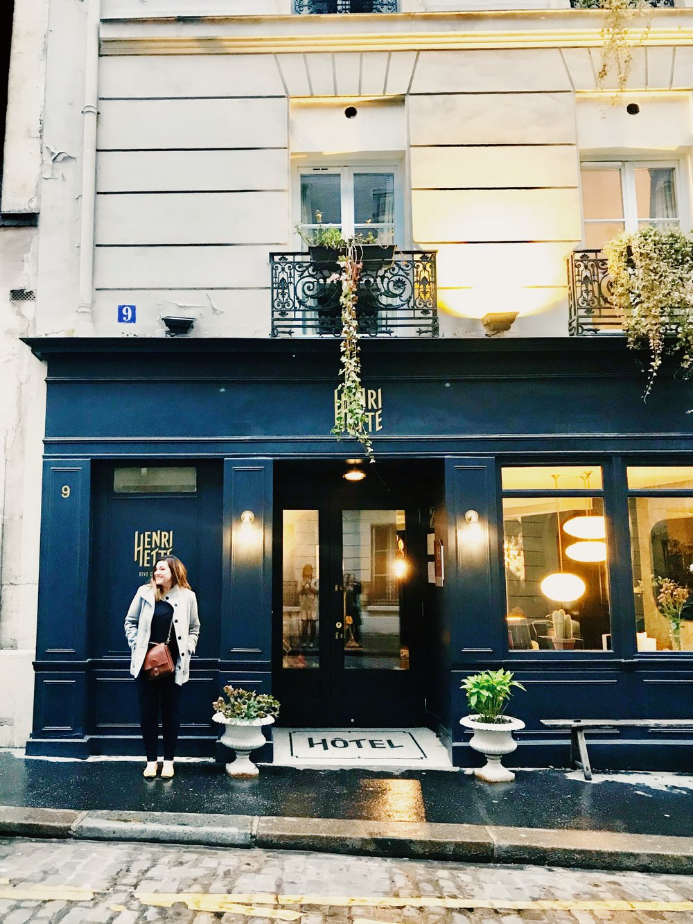 Hotel Henriette Paris Outside boutique hotel.JPG