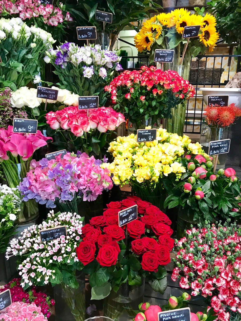 Day 2 In Paris Shopping Flower Market The One Moment Events