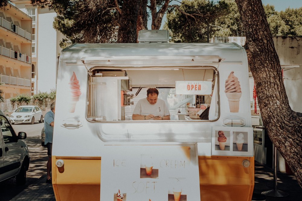 OMG Mario I'm not violating the restraining order if I'm not  inside  of the truck...Seriously stop it, don't call the police again.  Photo by  Tobias Zils  on  Unsplash