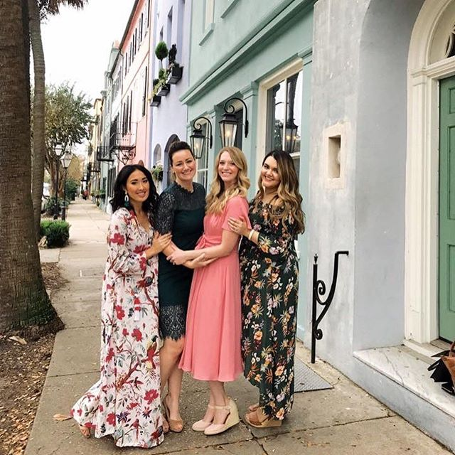 Celebrating this gorgeous girls birthday in Charleston yesterday was nothing short of perfection!!! So thankful to have her in my life and for the wedding industry to have brought us together!!! Can't wait for the 2nd half of our trip and exploring this beautiful, colorful city!!!