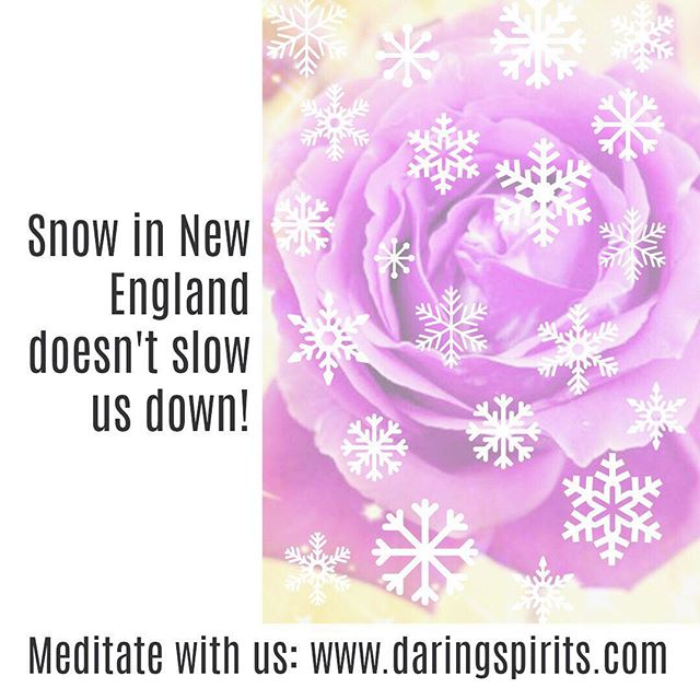 Regardless of the weather outside, we have a meditation for you! Check it all out in our Shop at www.daringspirits.com. #daringspirits #activemeditationpractice #AMP #seeyourlife #peace #wealth #career #health #relationships