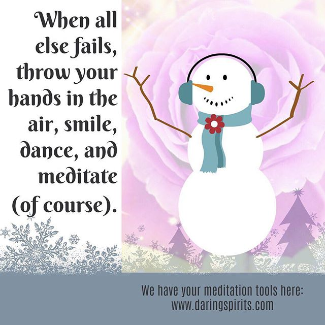 Having fun yet? #holidaze #daringspirits #AMP #seeyourlife #activemeditationpractice #gold