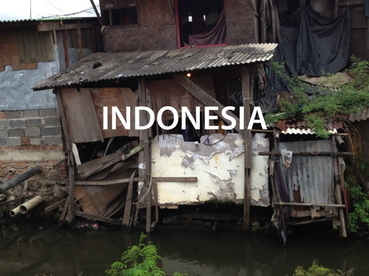 Over 25 million people in Indonesia live in slums or no where at all.              Read more ...