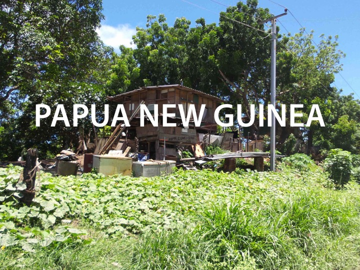 Over 6 million people in Papua New Guinea live in slums of no where at all.          Read more ...