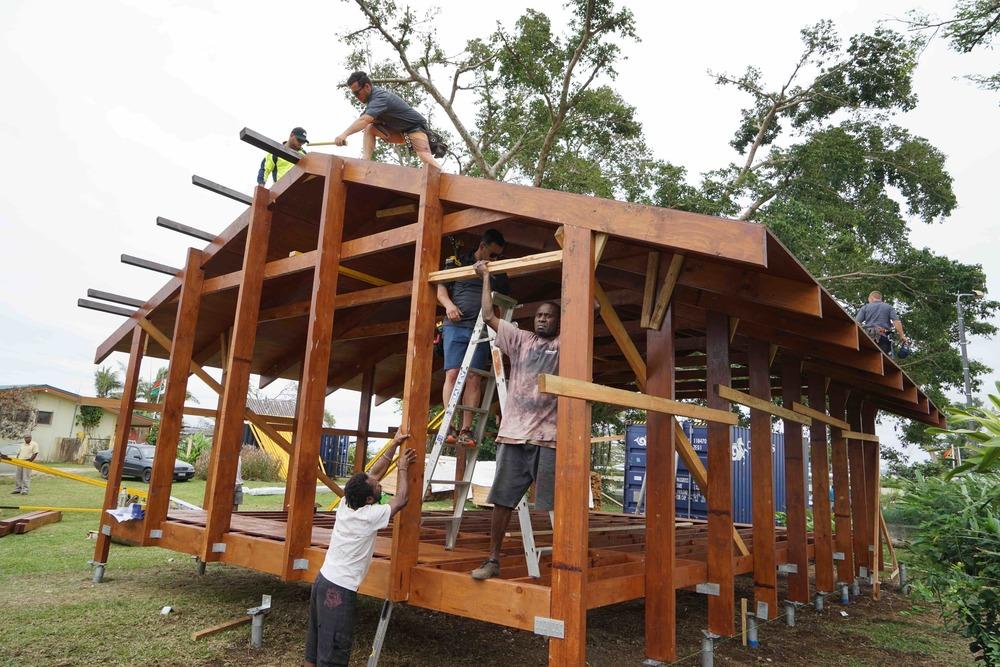 Nev House in Vanuatu