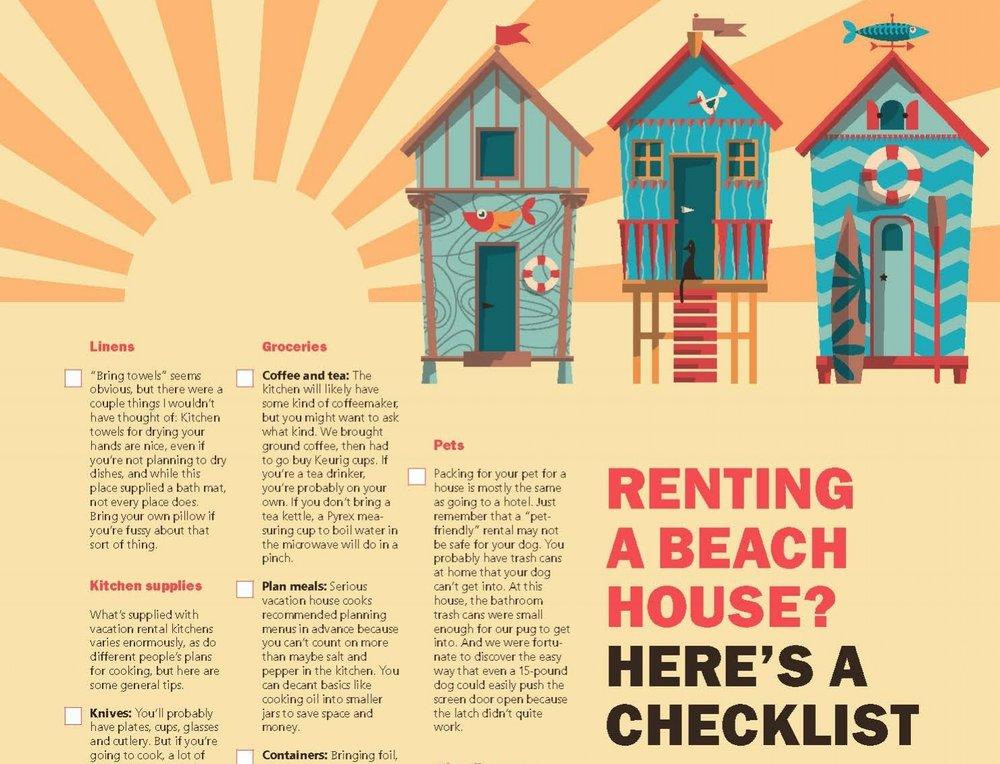 Beach House Checklist