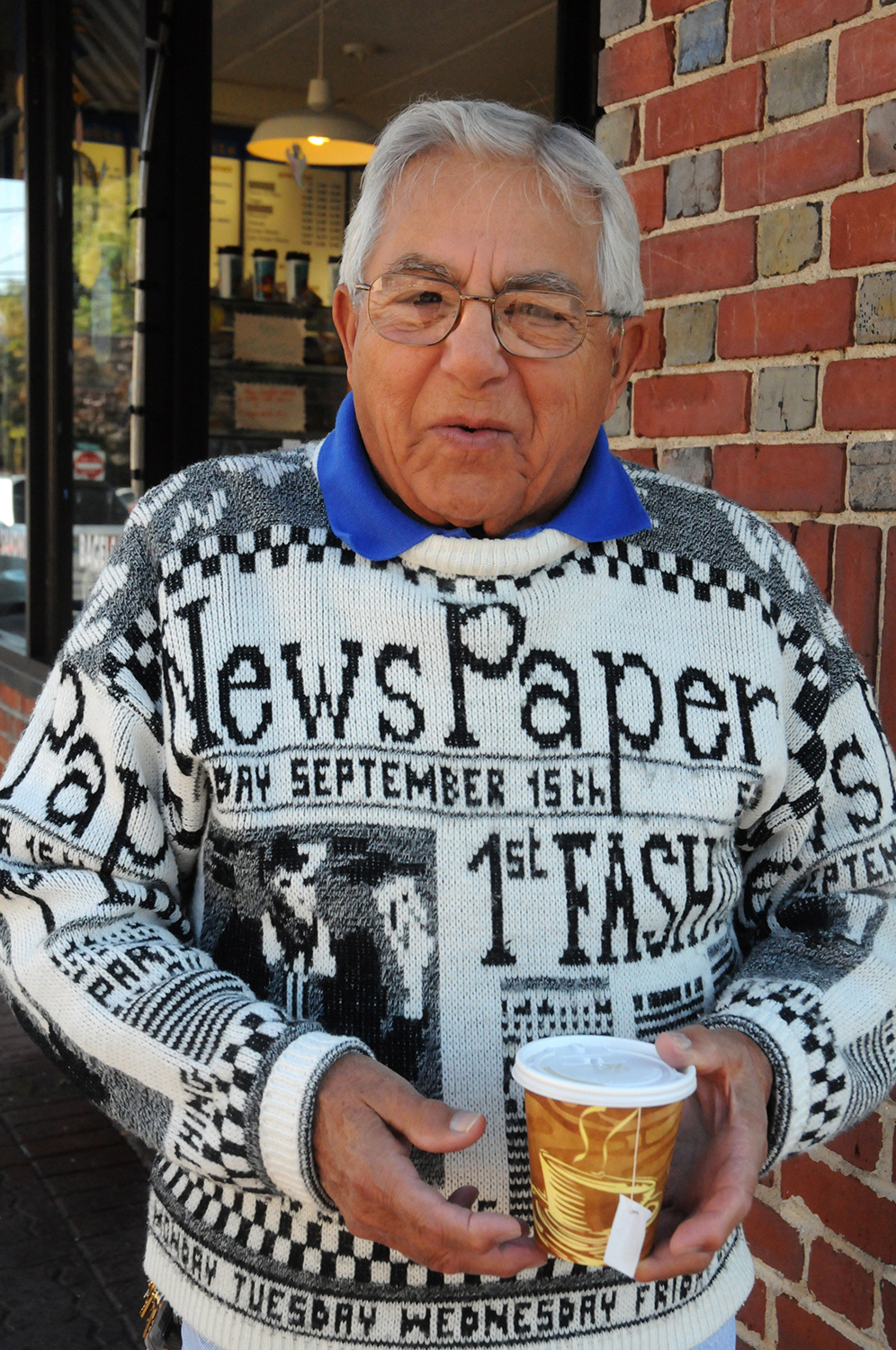 Newspaper Sweater