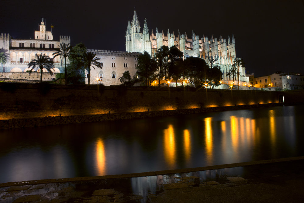 Cathedral of Santa Maria of Palma, Mallorca Spain.