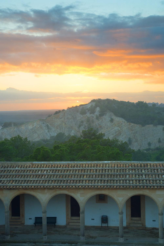 Monti-Sion de Porreres, Mallorca Spain.