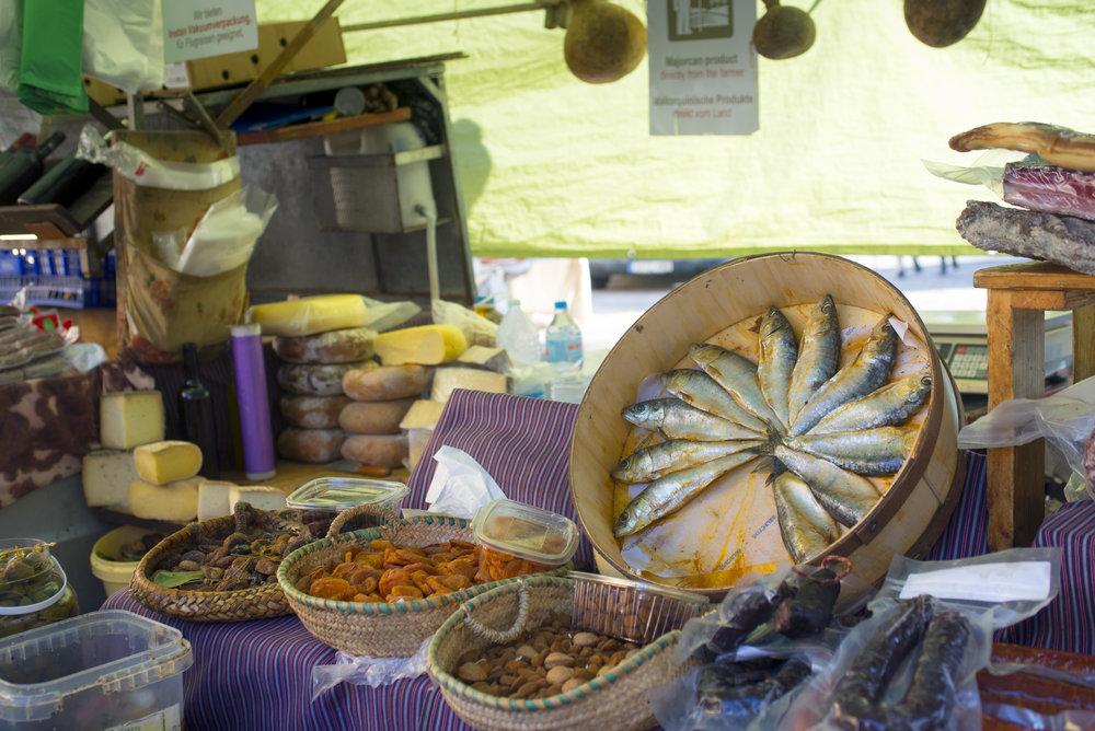 Sineu market, Mallorca Spain.
