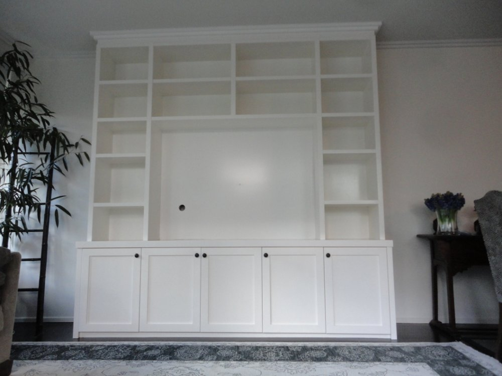 Entertainment Unit _Shaker Doors.JPG