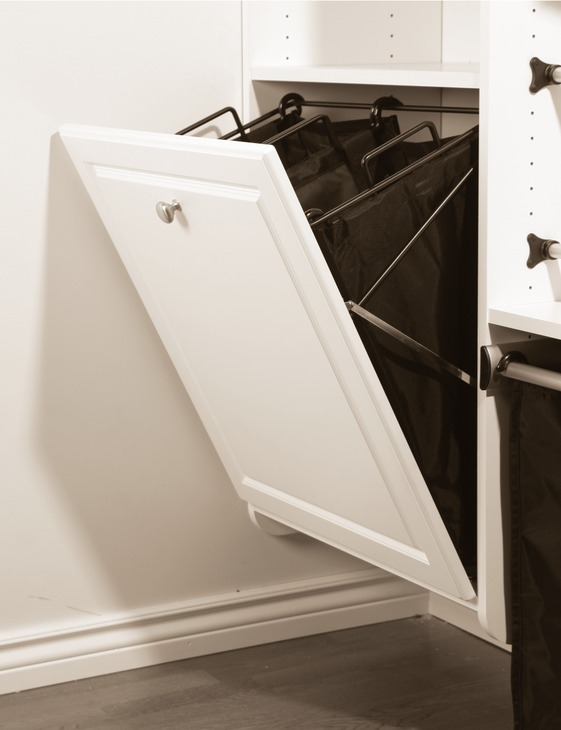 Tilt out Laundry hamper