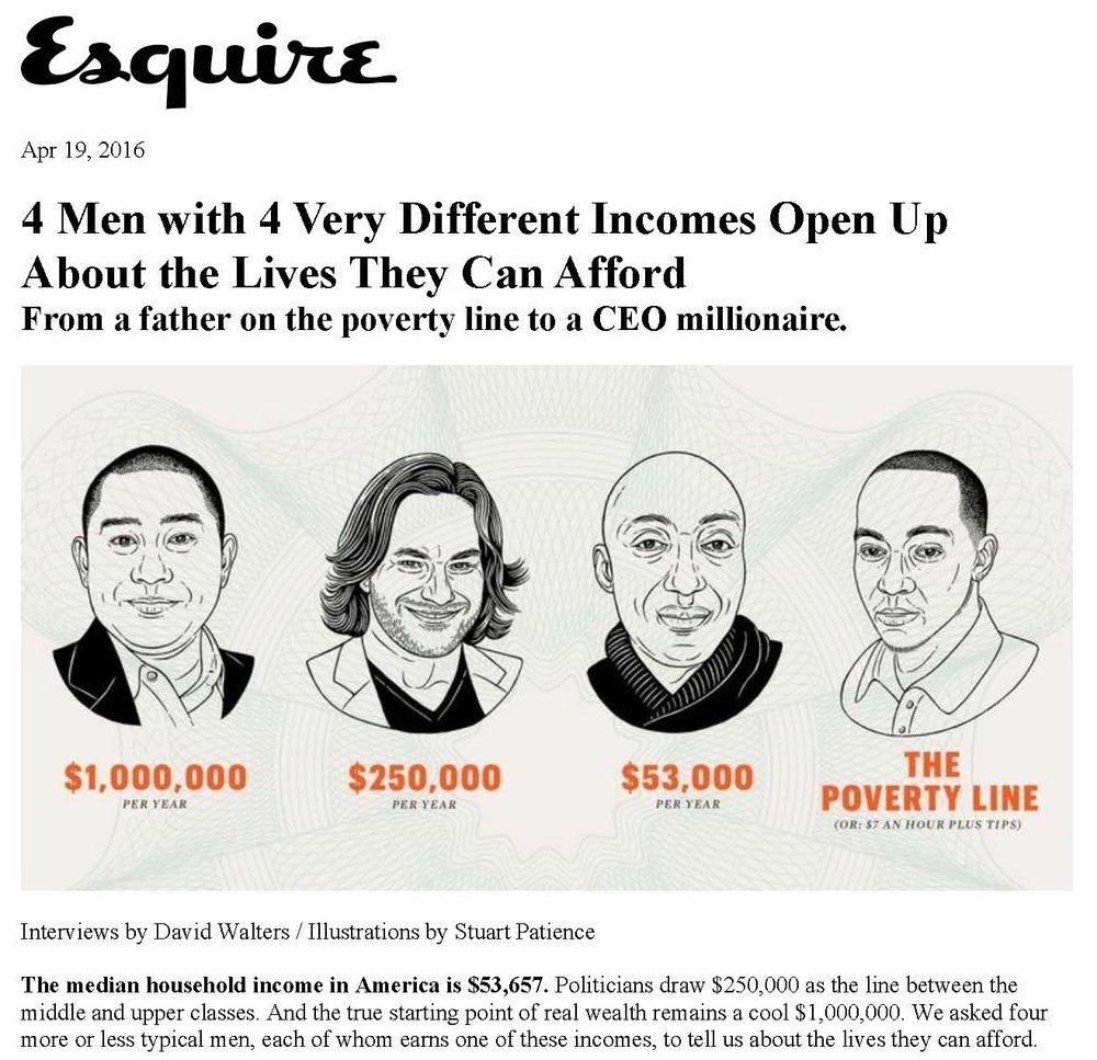 2016-April-Esquire-Four Men Four Different Incomes-Page1.jpg