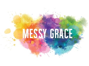 """Based on and inspired by the book """"Messy Grace"""" by Caleb Kaltenbach from Water Brook publishers"""
