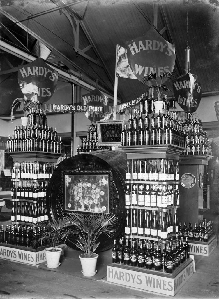 Thomas Hardy Wine Display, Photograph History Hub SA
