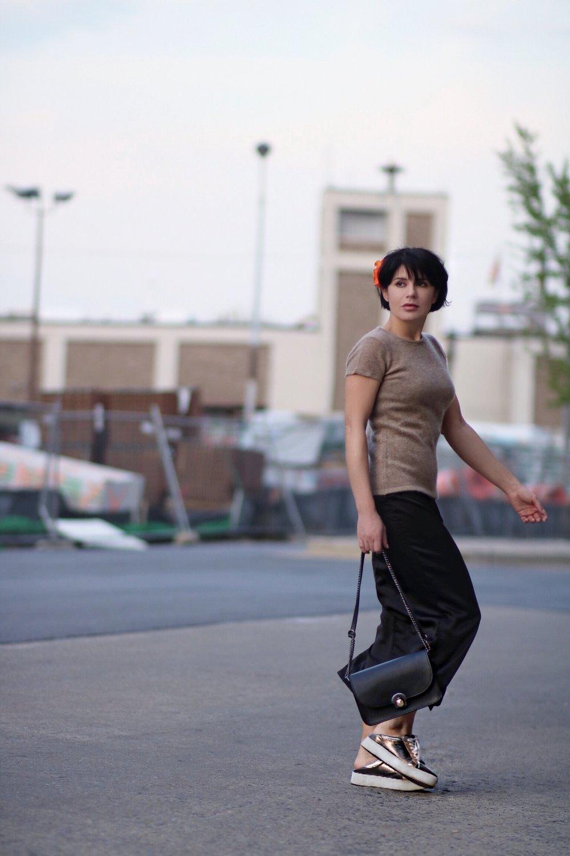 cashmere silk petite fashion streetsyle