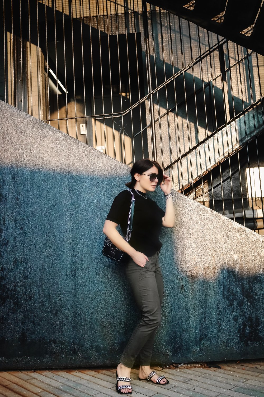 black-top-khaki-pants-street-style