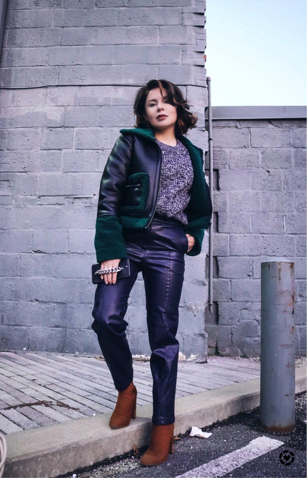 streetstyle-petite-blogger-aviator-jacket