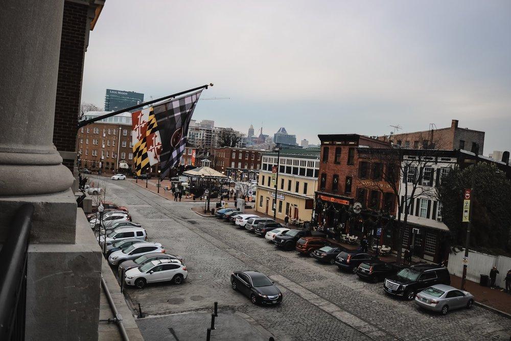Pendry-Baltimore-ballroom-view-street