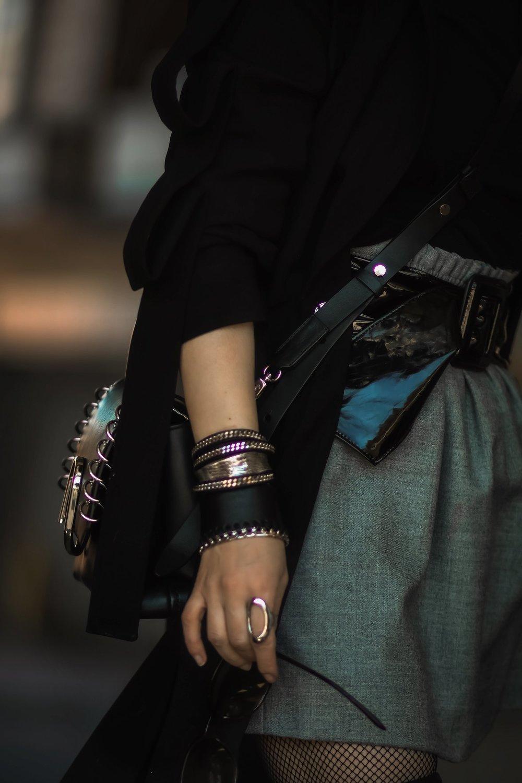Isabel-Alexander-The-Dark-Shop-Bracelet-stack