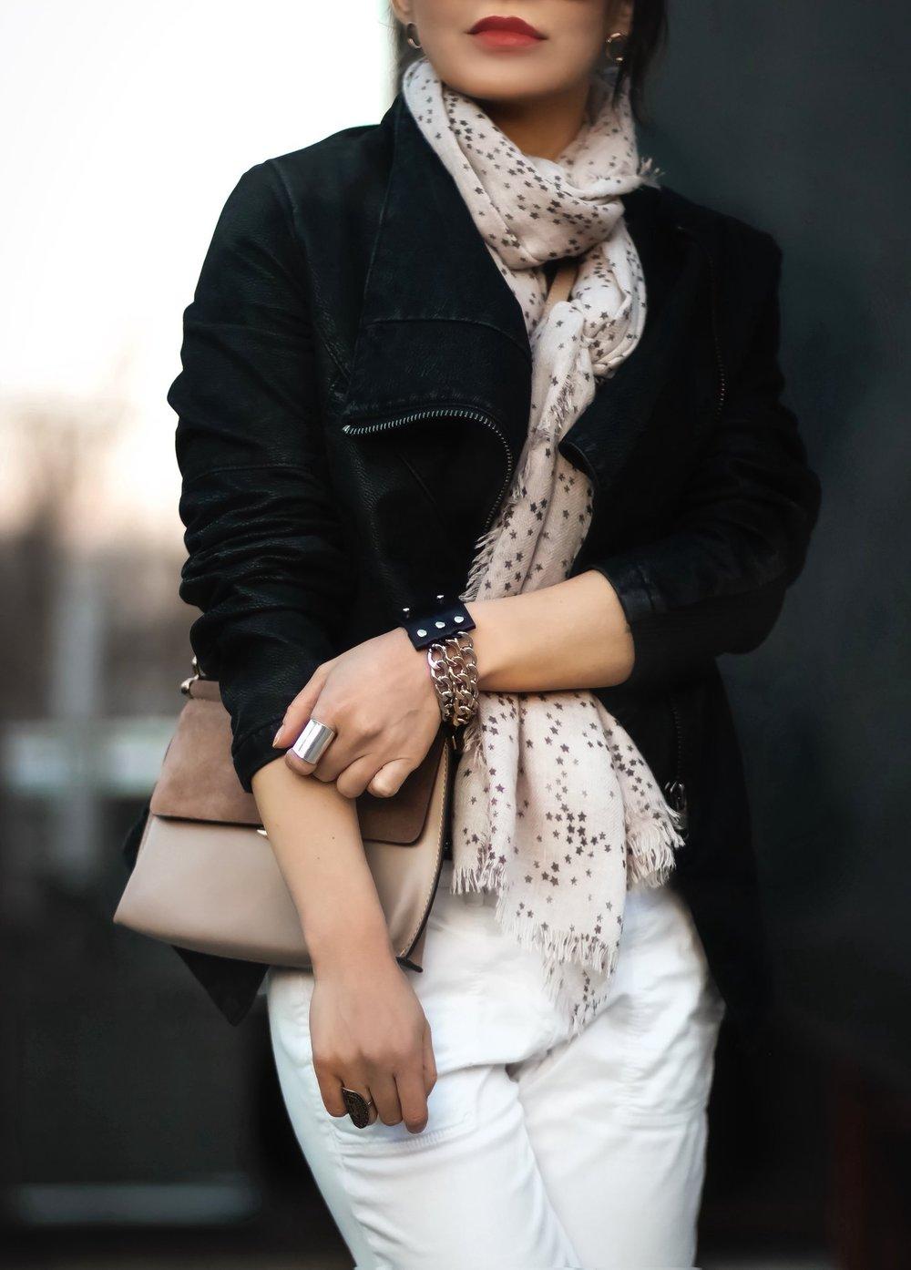 Isabel-Alexander-LOFT-white-denim-HM-black-suede-moto-jacket-details.jpeg