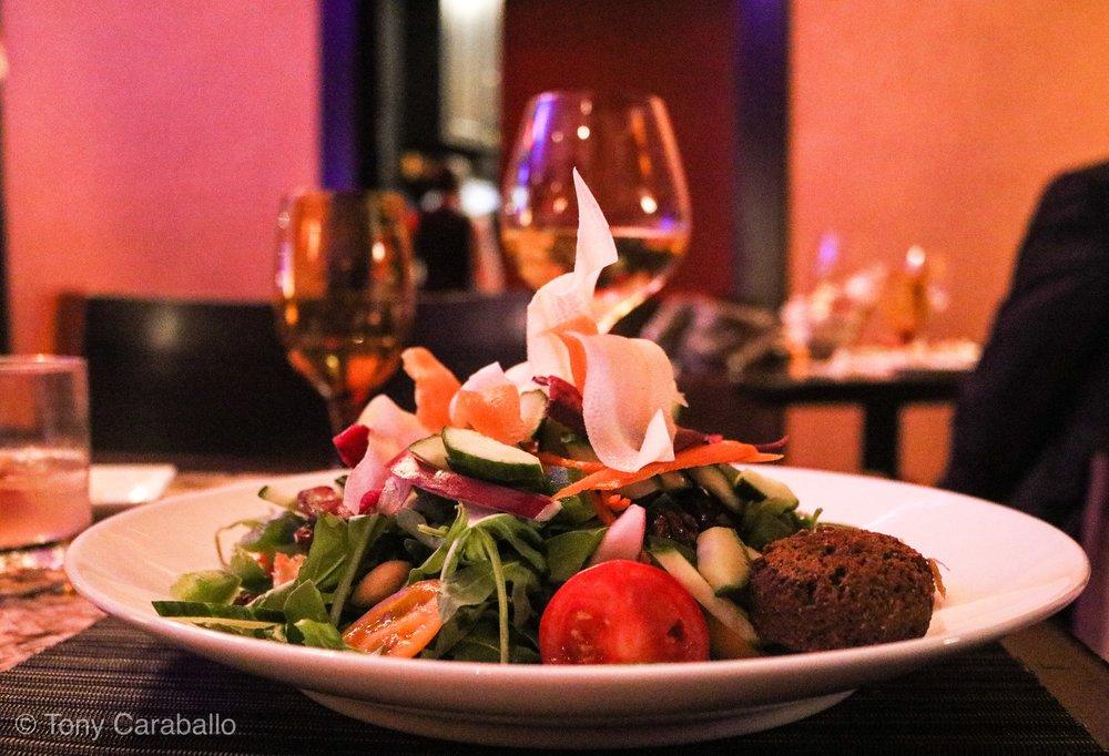 Ritz Carlton Tysons Corner Entyse Salad
