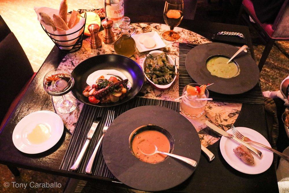 Ritz Carlton Entyse dinner