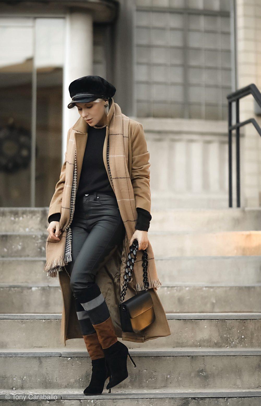 Isabel Alexander Chriselle Lim Nordstrom Coat coated jeans