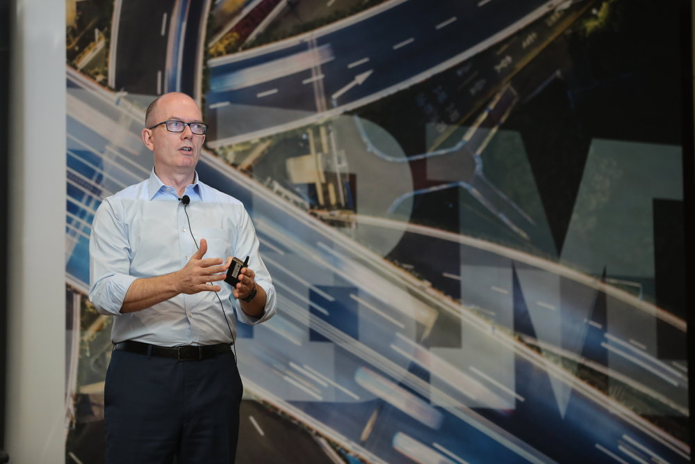 Jonathan Paul at an IBM Power9 Launch held in Kuala Lumpur on 15 May 2018.