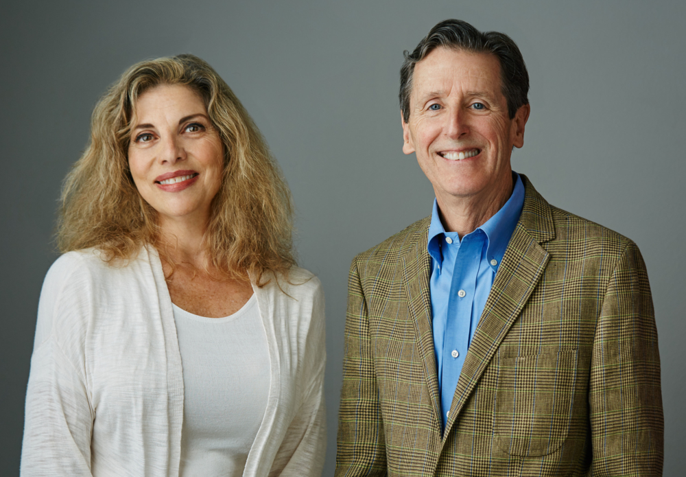 Beth Bergman and Michael Allderdice, the founding partners of Bergman and Allderdice