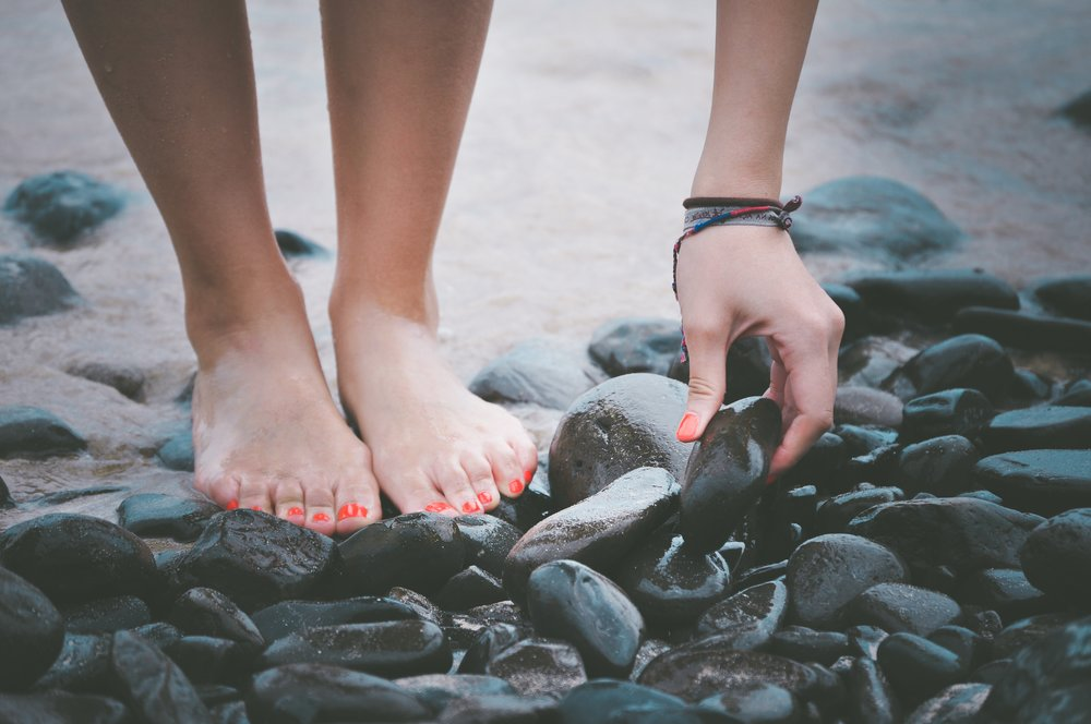 Experience the healing power of warm, soothing basalt stones
