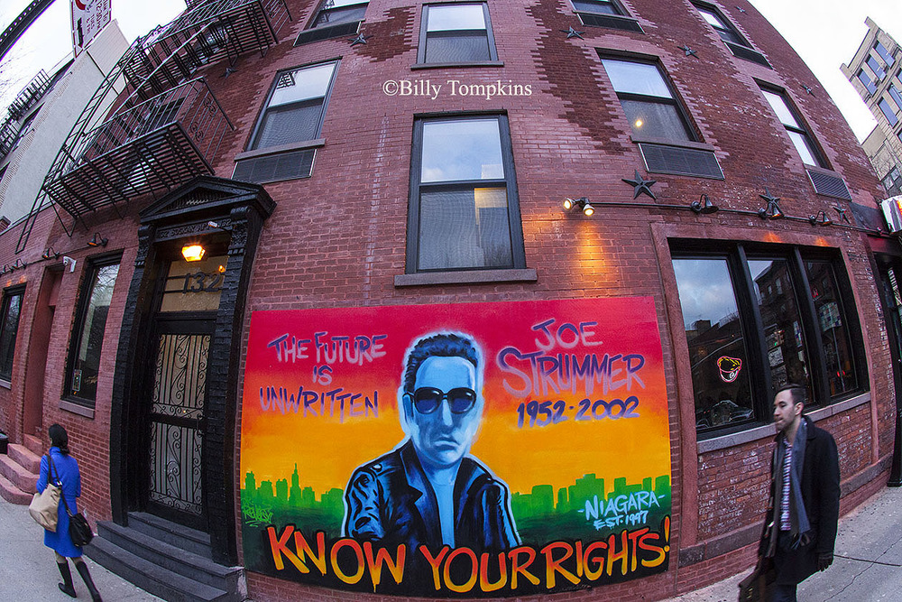 Joe Strummer of The Clash --Lower East Side mural