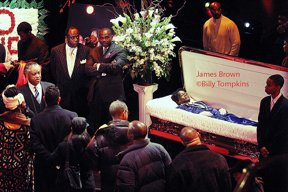 James Brown funeral moderated by Al Sharpton