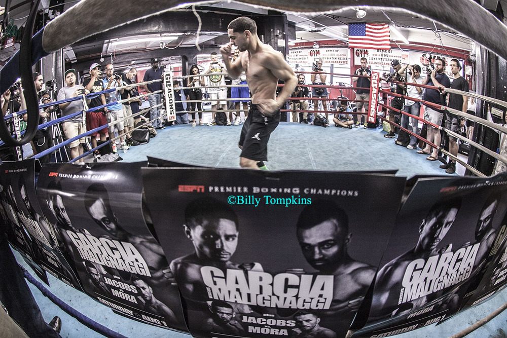 Danny Garcia media workout