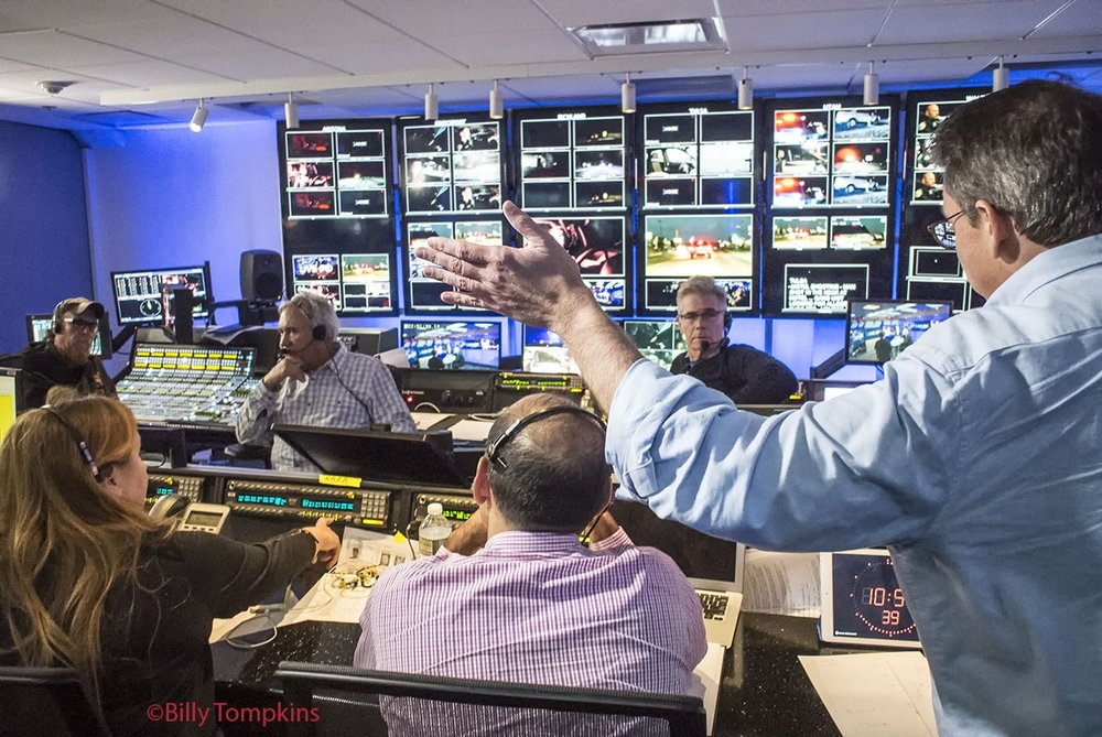 control room for A&E's LIVE PD