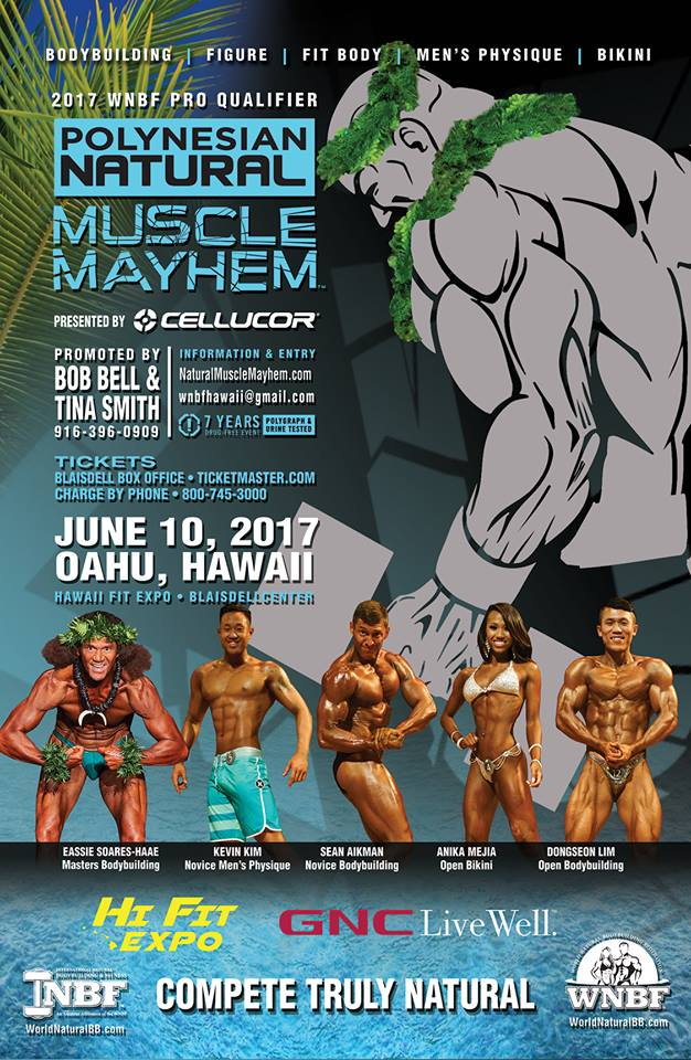 2017 INBF South Carolina Bodybuilding