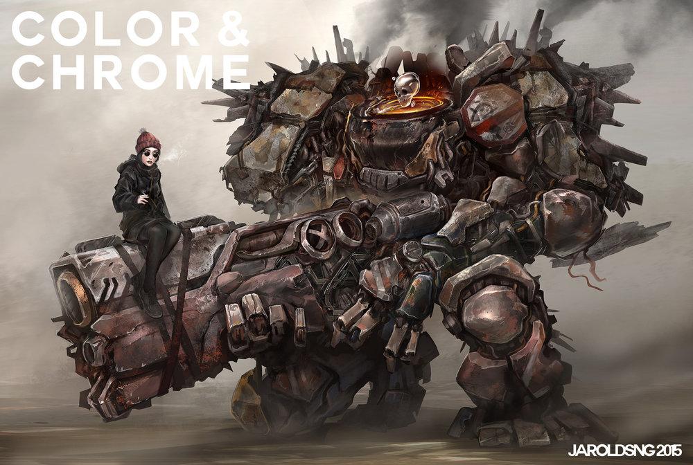 Color & Chrome: Heavy Gun