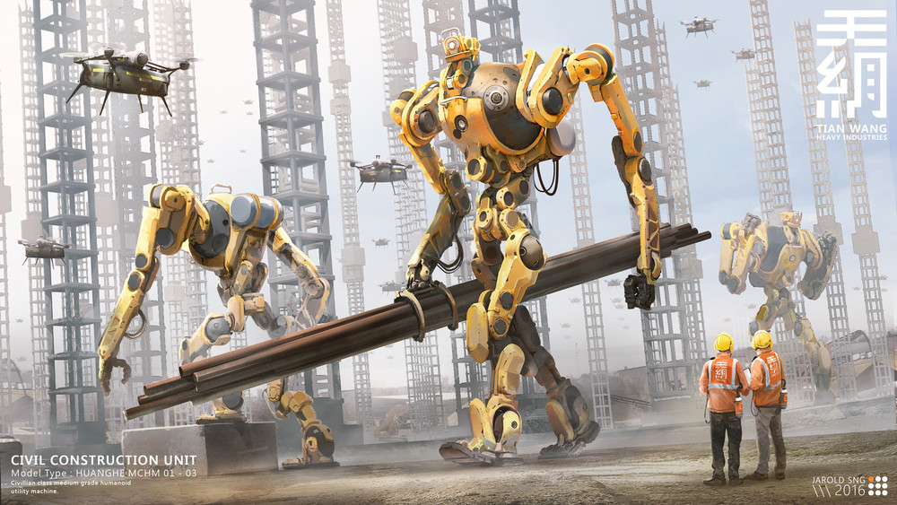 TIEN WANG: Yellow Giants