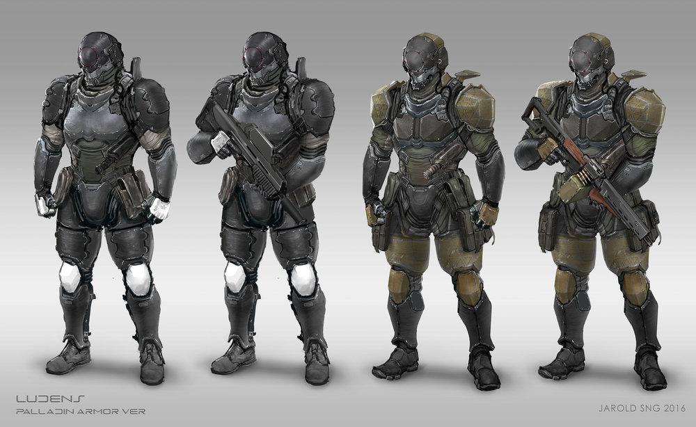 Paladins: Armor Design