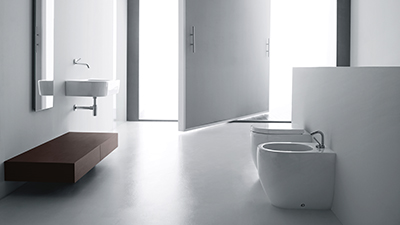 We have a great range of ceramic sanitaryware with quality brands from Germany and Italy.