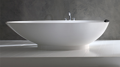 Whether it's stone or steel, freestanding or inset, your bath should be comfortable and durable.