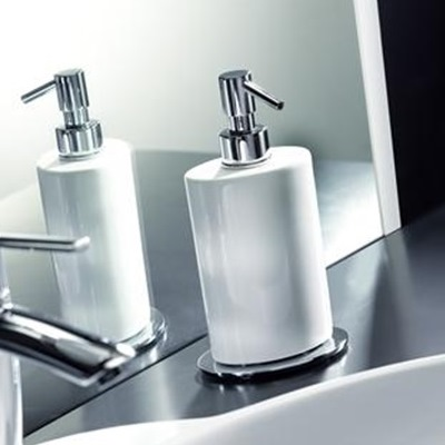 brera-white-soap-dispenser