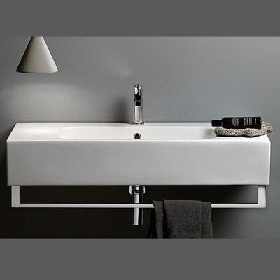 European bathroom accessories - Astra Walker Traccia Wall Hung Basin Perth Lavare