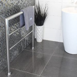 Floor Freestanding Heated Towel Rails Perth Lavare
