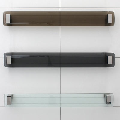 DC Short Lava Glass heated towel rail