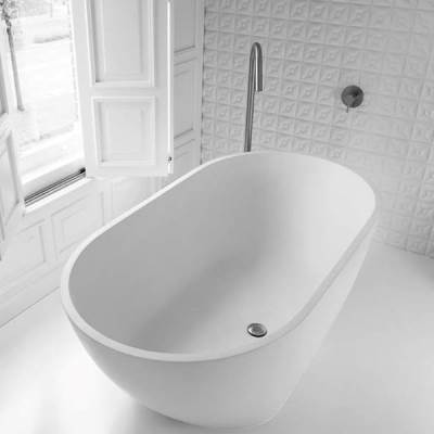 Dado Freestanding Stone Bath - Perth
