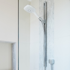 hansgrohe rail shower set