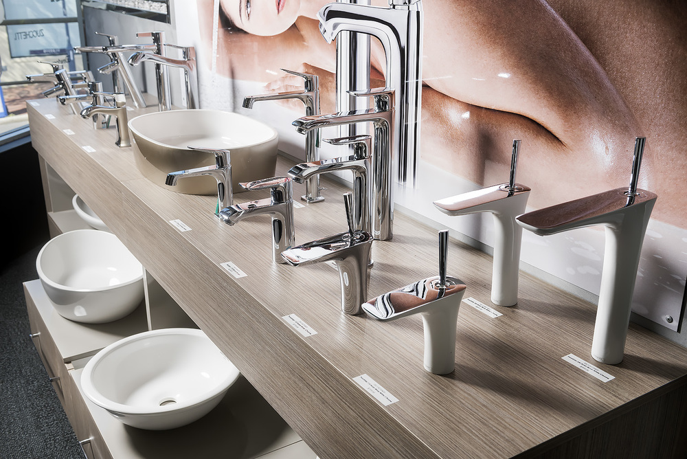 Hansgrohe tapware display