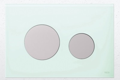 teceloop-glass-green-chrome-flush-plate